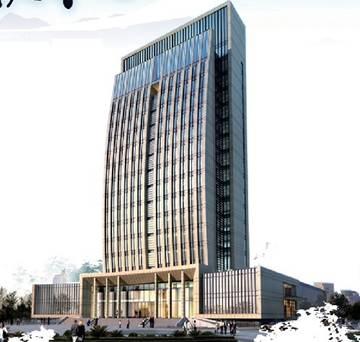 淄博保税物流公司综合办公楼
