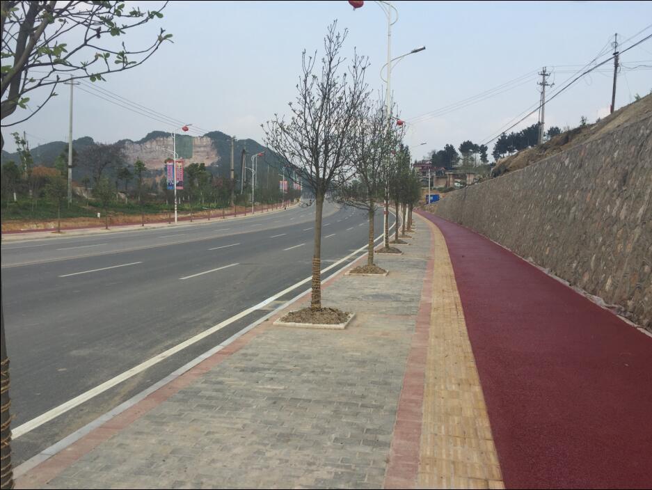 贵州贵阳-都匀联络线道路扩宽改造