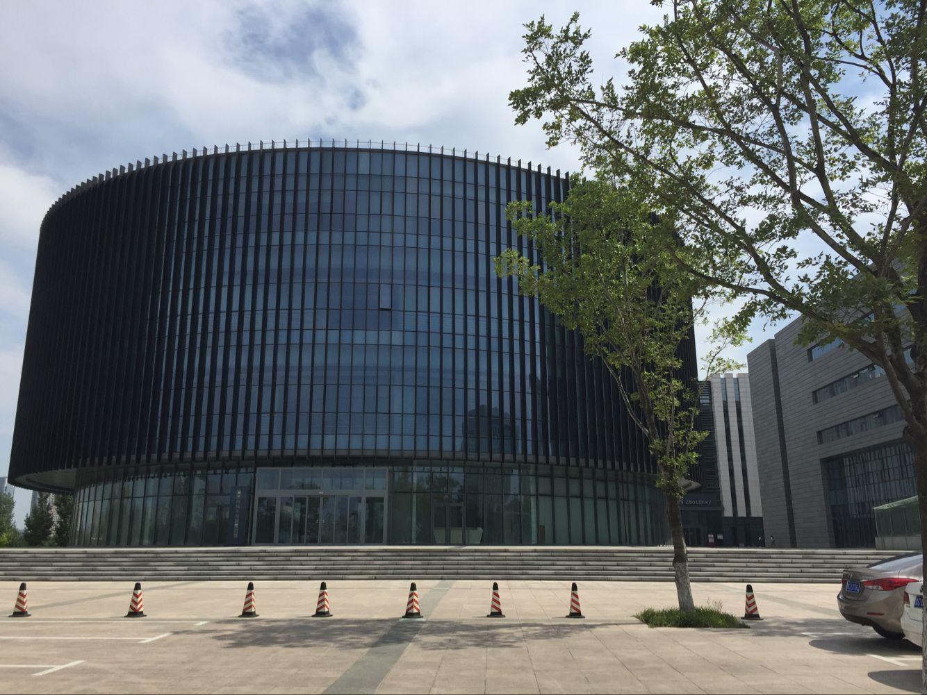 淄博市文化中心D组团-图书档案规划馆